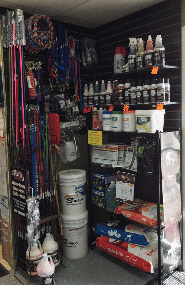 Show Feed & Supplies – Richmond's Feed, Pet & Gifts
